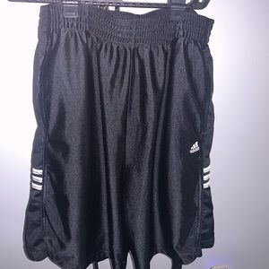 Adidas: Men (L) Basketball Shorts